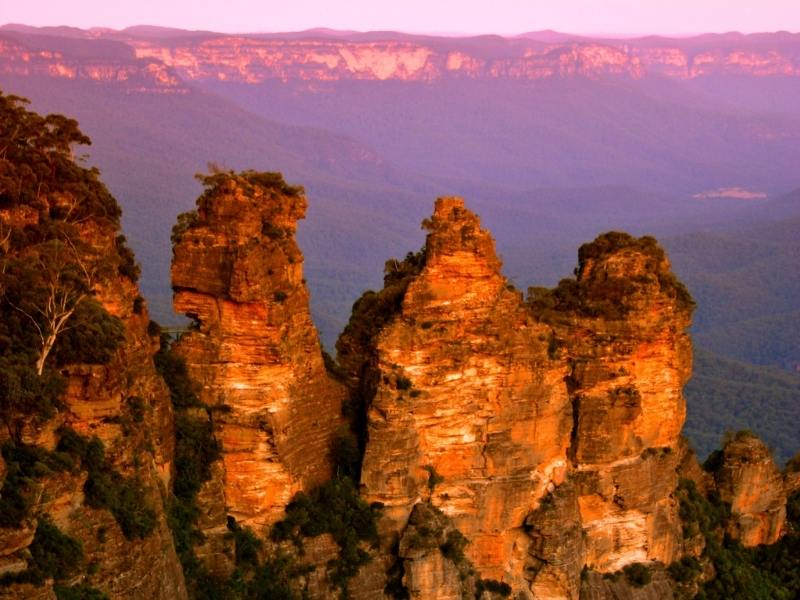 Blue Mountains Australian UNESCO World Heritage sites
