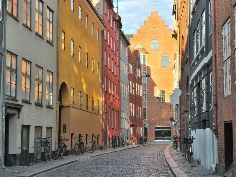 Denmark street often seen on many Danish series on Netflix
