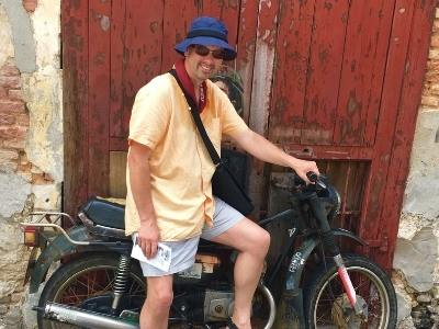 Doug Collins in Penang