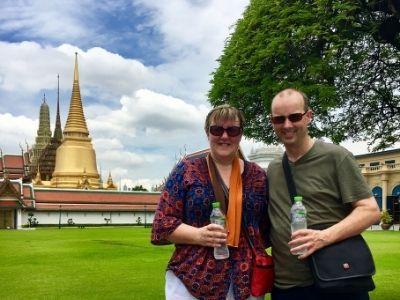 Doug and Tracy Collins in Bangkok