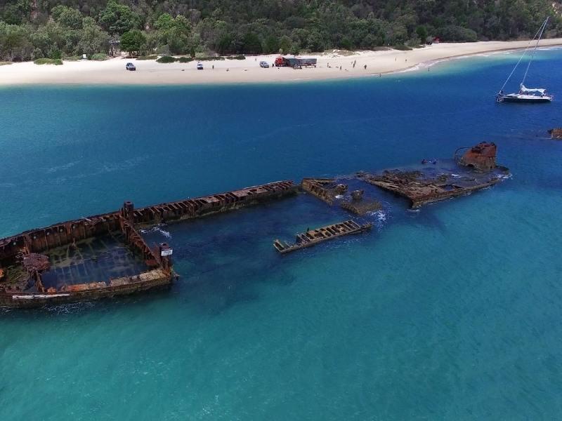 Tangalooma Resort in Queensland Australia