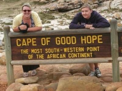 Sign for the Cape of Good Hope