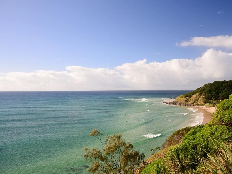 Wategos Beach in Australia