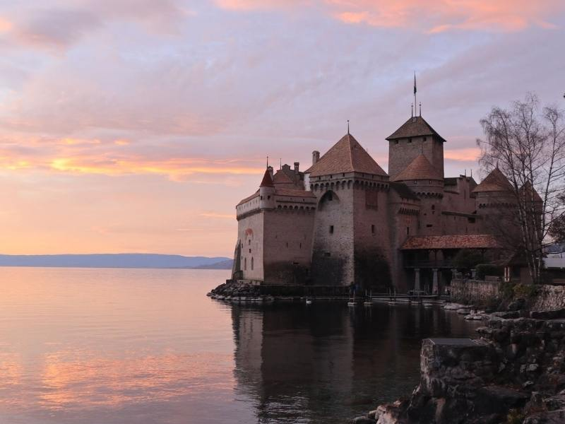 Chillon Castle Switzerland one of the best places to visit in Switzerland