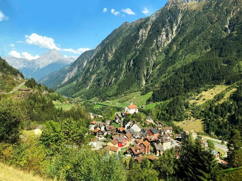 Views from the Gotthard Express a true Switzerland bucket list experience