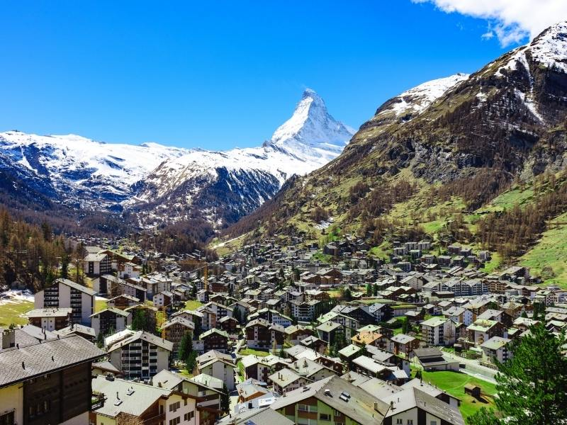 Zermatt Switzerland one of the best places to visit in Switzerland