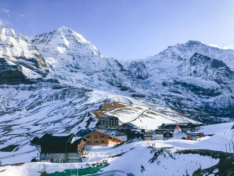 jungfraujoch one of the best places to visit in Switzerland