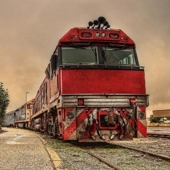 The Ghan in Australia is a bucket list train journey in my train-travel-guide
