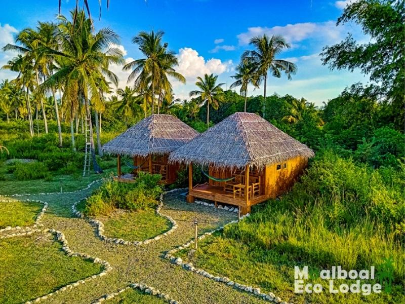 Moalboal Eco Lodge is a great example of eco friendly accommodation and a way to support sustainable travel