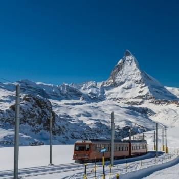 Swiss trains often feature in many a train-travel-guide