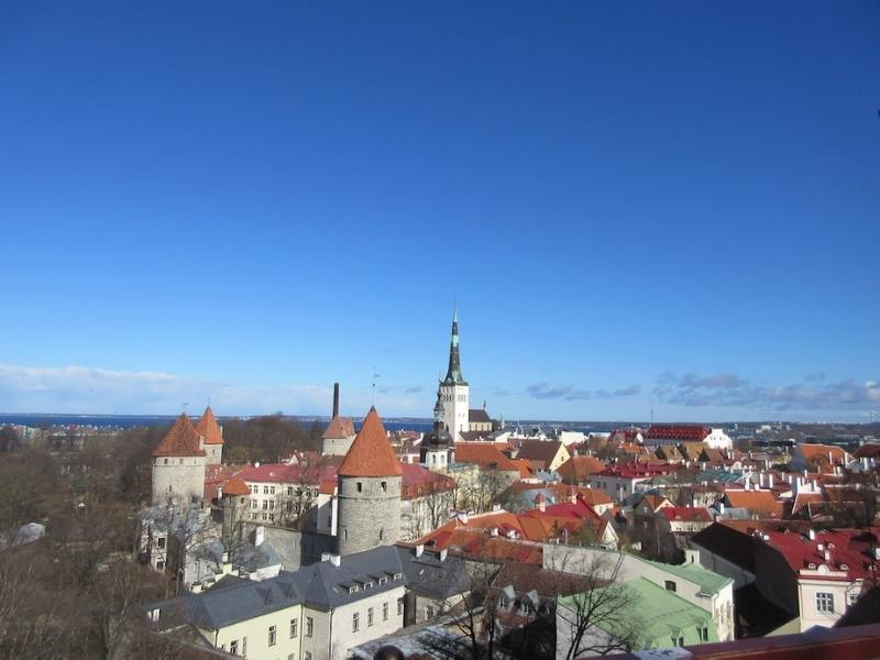 Tallinn in Estonia one of the most beautiful cities in Europe