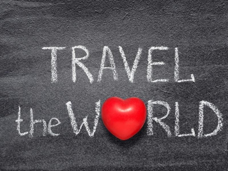 Travel the world with a heart for the 'o'