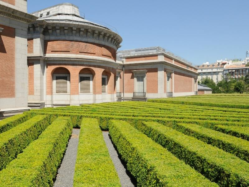 Prado Garden - one of the best things to do in Madrid