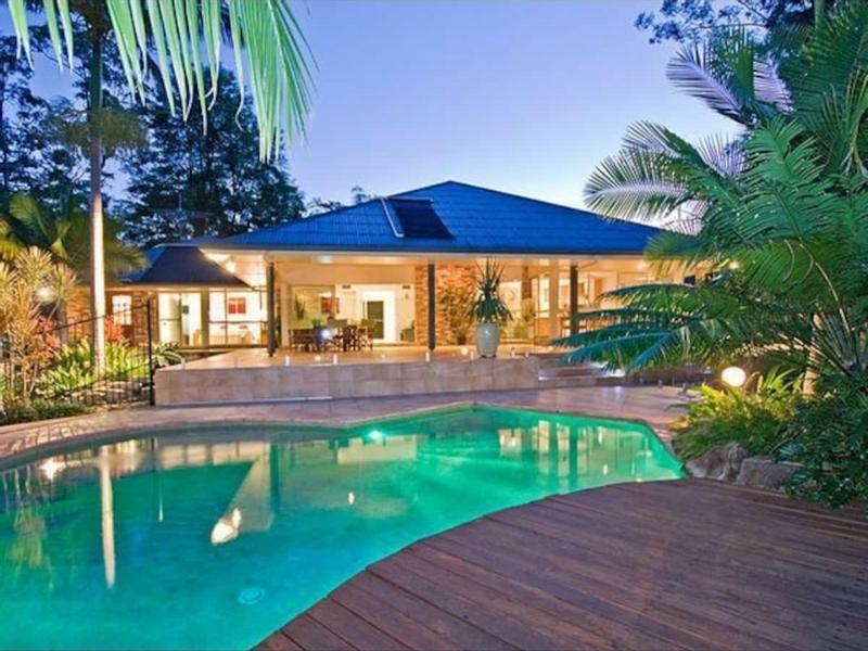 Sunshine Coast home with pool