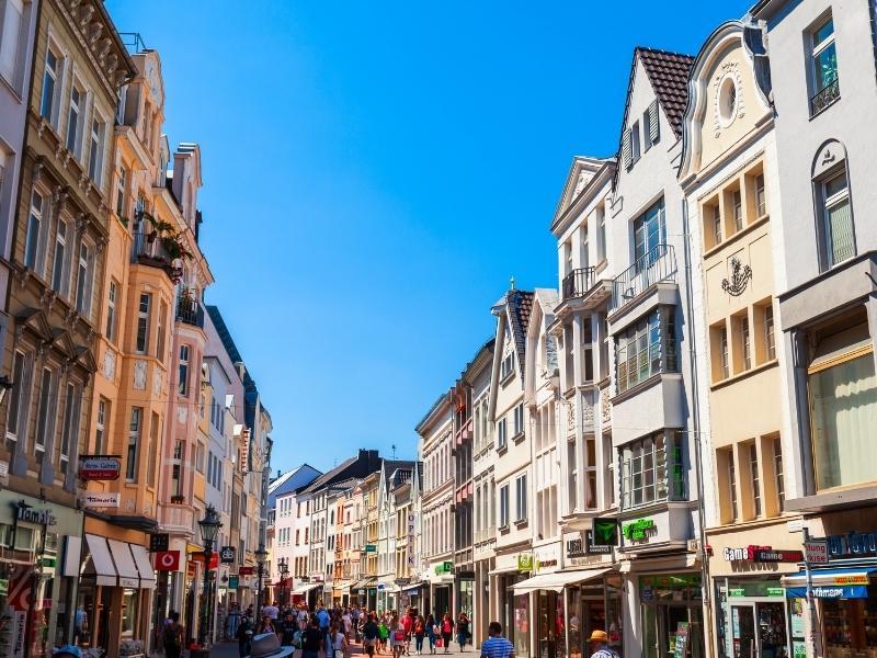 Bonn street scene.