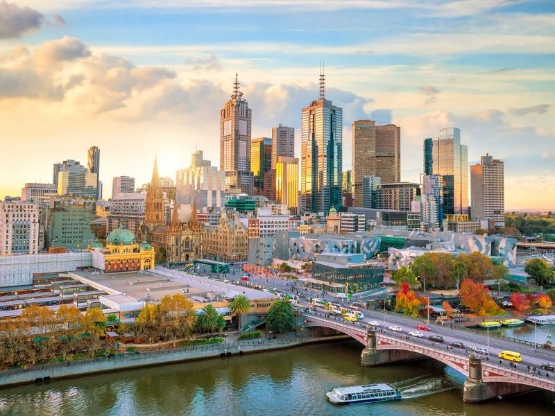 The Melbourne Skyline features in some Australian shows on Netflix.