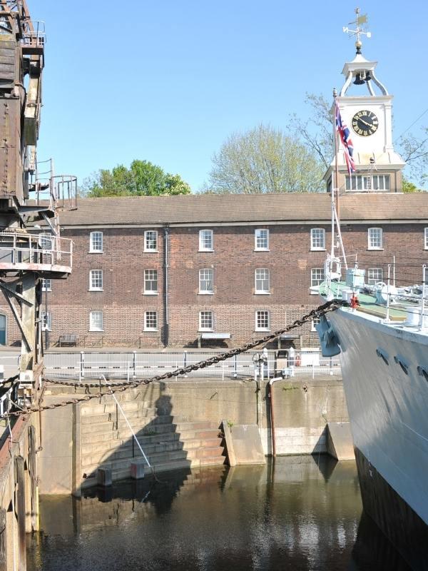 Chatham Docks in Kent