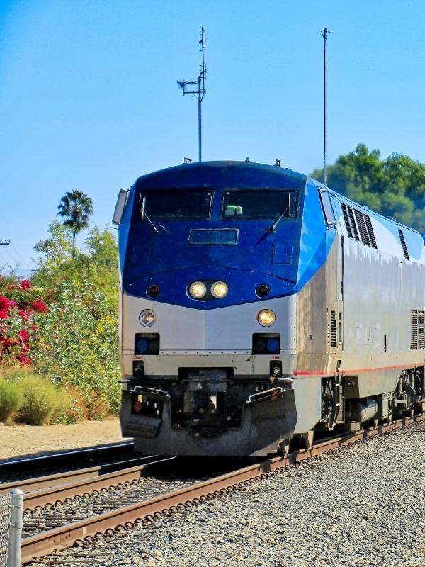 The Amtrak Coast Starlight Train.
