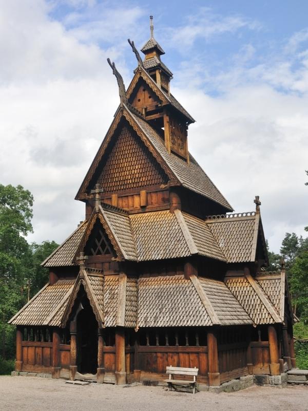 Gol stave Church Folks museum Oslo.