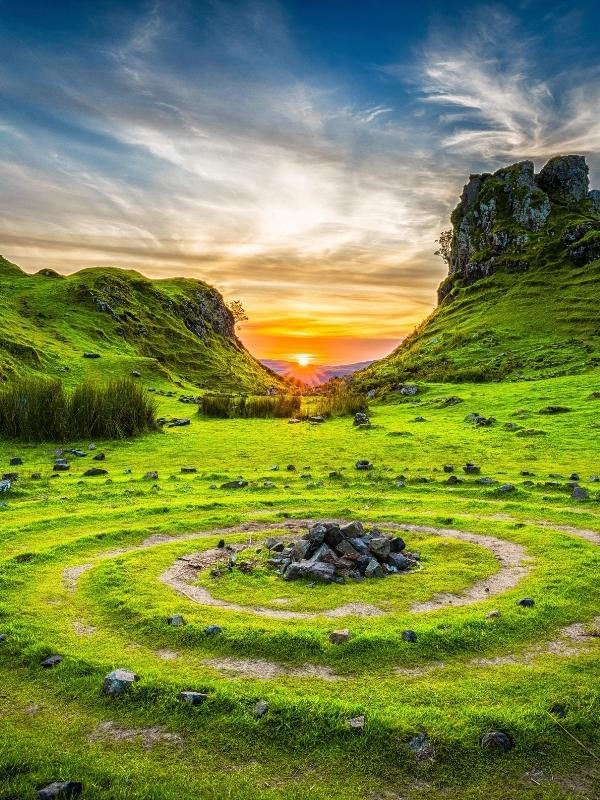 Crops on the Isle of Skye