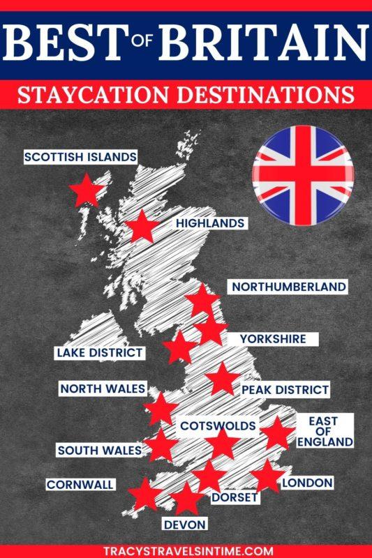 UK staycation destinations