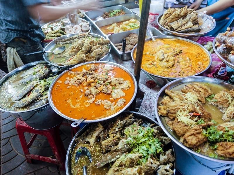 Street food in Vietnam.