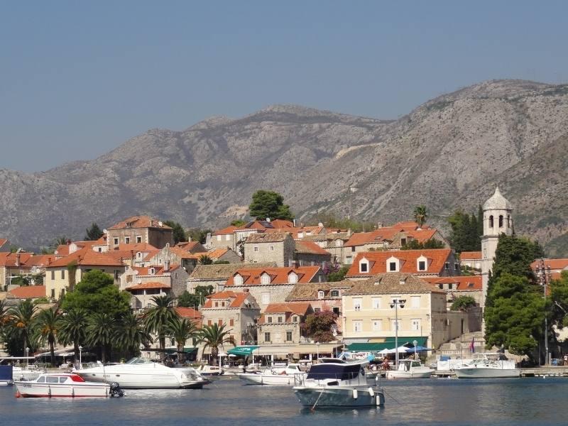 Cavtat in Croatia.