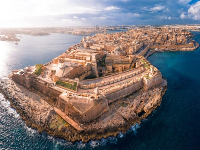 Fort Elmo Valletta.