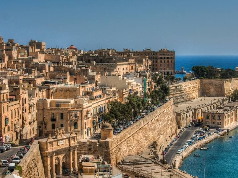 View of Valletta in Malta features in one of the most popular travel documentaries on Netflix restaurants on the edge.