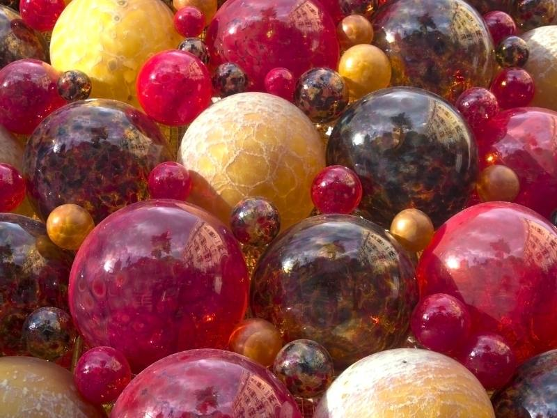 One of my malta travel tips is to buy some of the beautiful handblown glass like those in this photograph.
