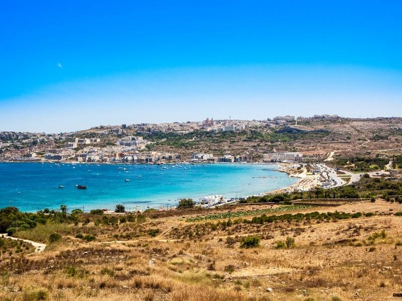 Mellieha Malta.