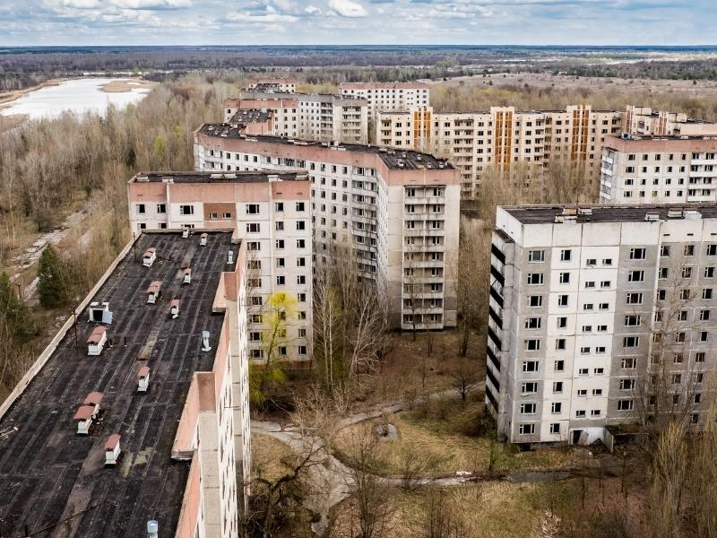Pripyat Town in Chernobyl Nuclear Zone.