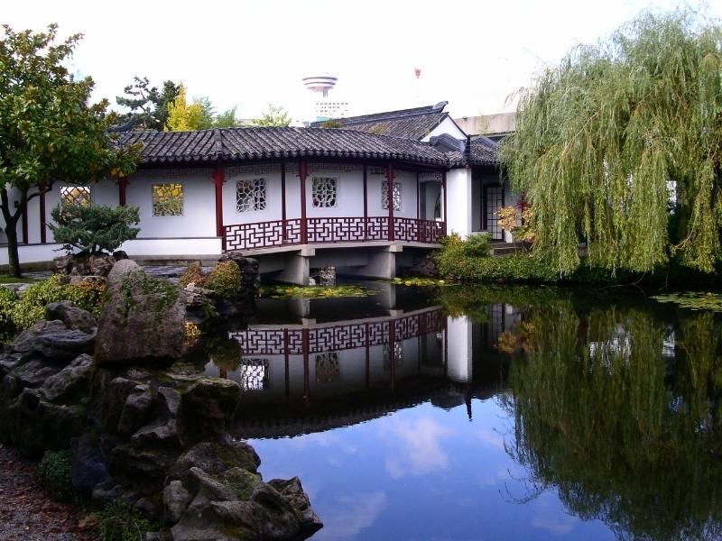 Sun Yat Sen gardens in Vancouver.