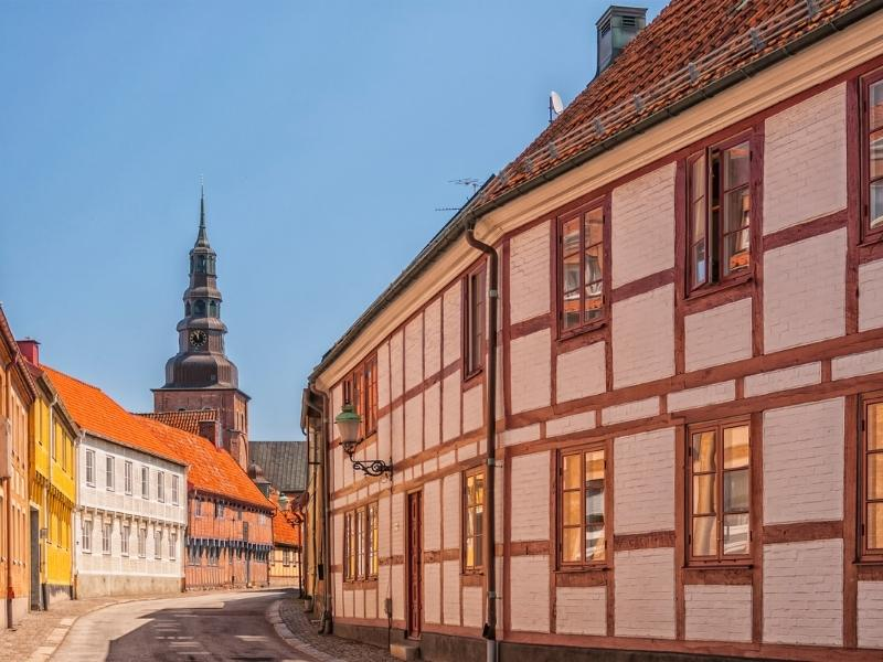 Swedish town of Ystad.