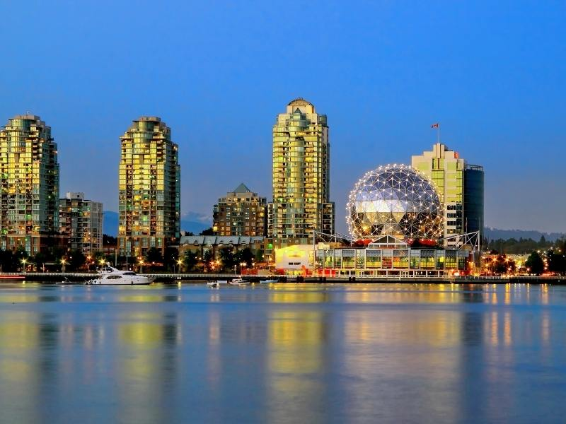 Vancouver Science World Museum.