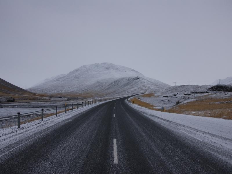 Akureyri in Iceland.