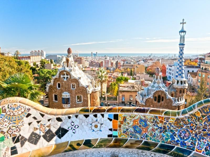 View over Barcelona.