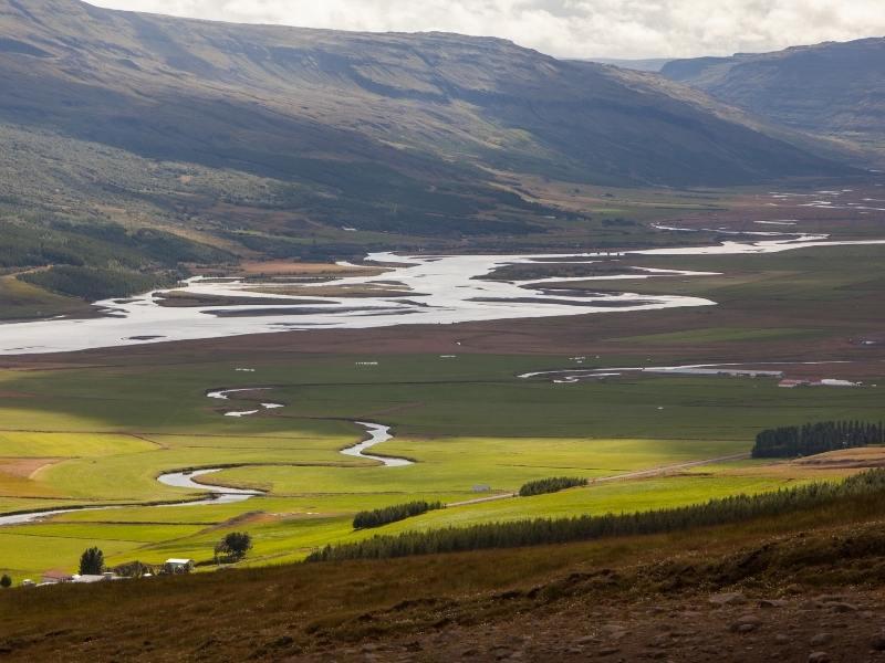 Egilsstaðir in Iceland.