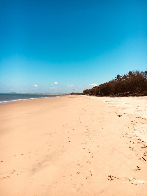 Beaches in Mackay.