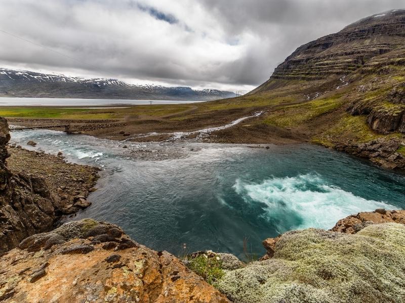Reyðarfjörður, Iceland.