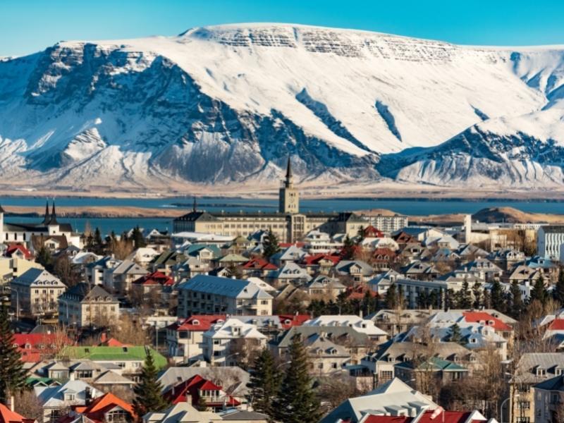 Reykjavik in Iceland.