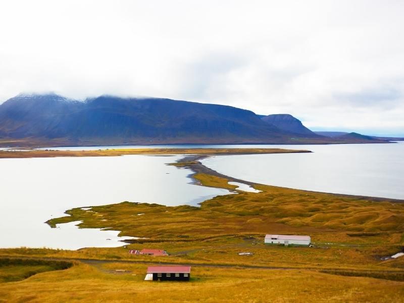 Skagafjörður in Iceland.
