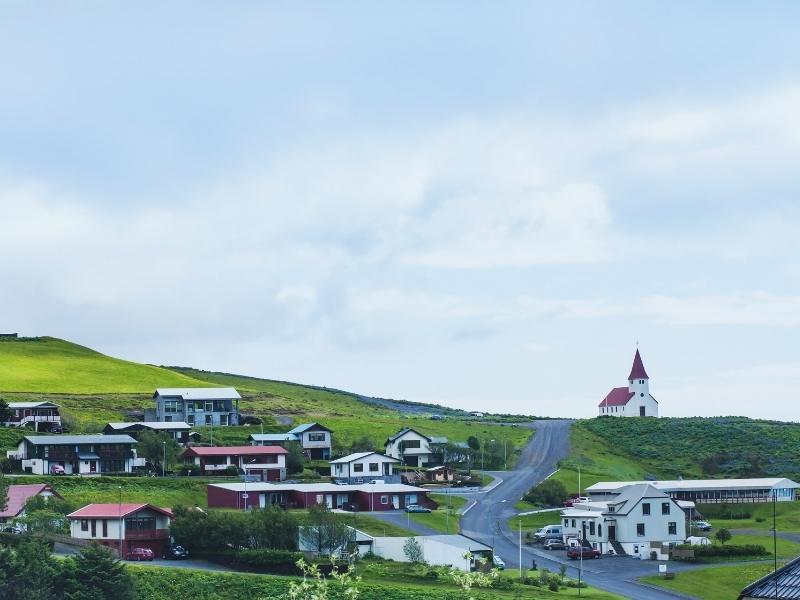 Many Icelandic TV series are filmed in Vik Iceland.