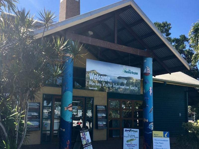 Visitor information centre on Nebo Road Mackay.